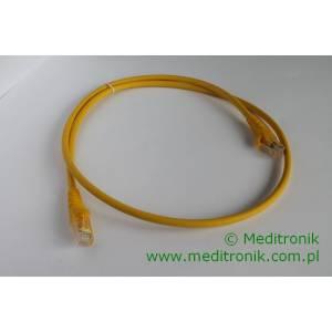 Patchcord UTP kat.6 LSOH dł.1m żółty