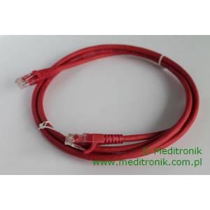 Patchcord UTP kat.6 LSOH dł.2m czerwony