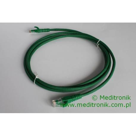 Patchcord UTP kat.6 LSOH dł.2m zielony
