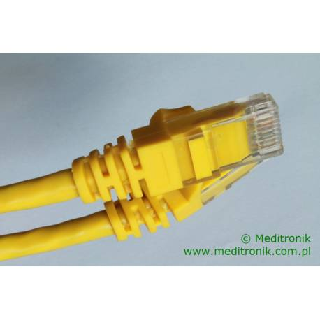 Patchcord UTP kat.6 dł.3m żółty