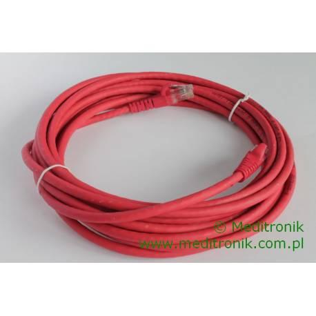 Patchcord UTP kat.6 LSOH dł.5m czerwony