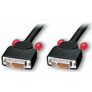 Kabel DVI typ D(cyfrowy) wtyk/wtyk wysoka jakość długość 2m