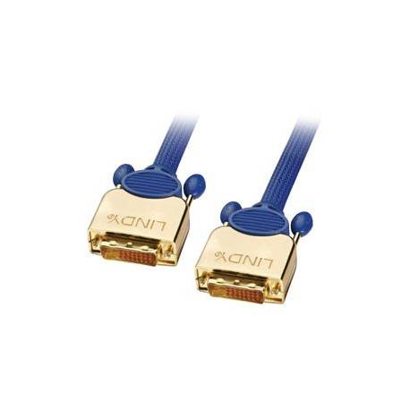 Kabel DVI typ D(cyfrowy) wtyk/wtyk wysoka jakość długość7,5m