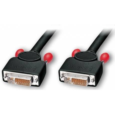 Kabel DVI typ D(cyfrowy) wtyk/wtyk wysoka jakość długość 10m