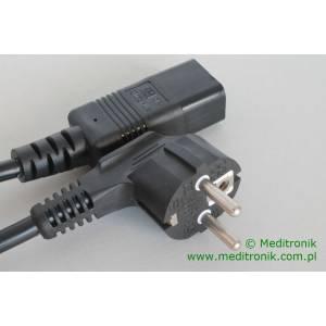 Kabel zasilający długość 2m wtyk Schuko na gniazdo IEC C19