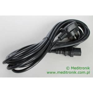 Kabel zasilający angielski złacze BS1363 na C13 długość 5m