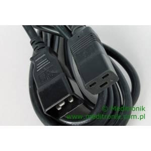 Przedłużacz kabla zasilającego złącza C19 / C20 długość 4m