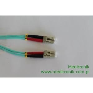 Patchcord światłowodowy LC-LC 50/125 OM3 MM duplex 0,5m