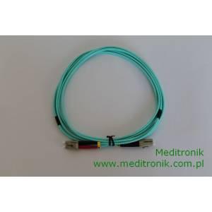 Patchcord światłowodowy LC-LC 50/125 OM3 MM duplex 2m