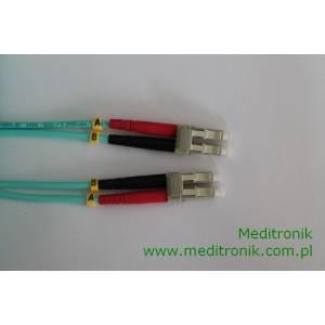 Patchcord światłowodowy LC-LC 50/125 OM3 MM duplex 20m