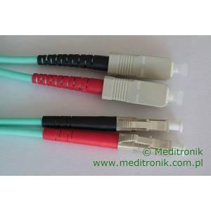 Patchcord światłowodowy LC-SC 50/125 OM3 MM duplex 3m