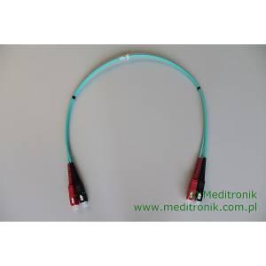 Patchcord światłowodowy SC-SC 50/125 OM3 MM duplex 0,5m