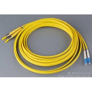 Patchcord światłowodowy LC-ST 62,5/125 MM duplex 2m