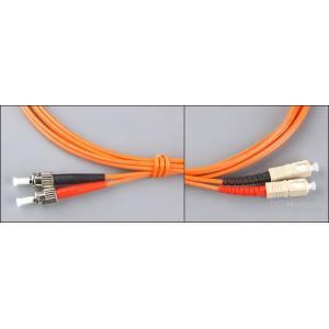 Patchcord światłowodowy SC-ST 62,5/125 MM duplex 1m