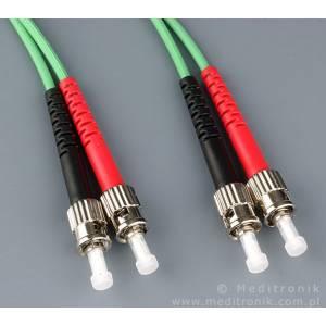 Patchcord światłowodowy ST-ST 62,5/125 MM duplex 3m PL
