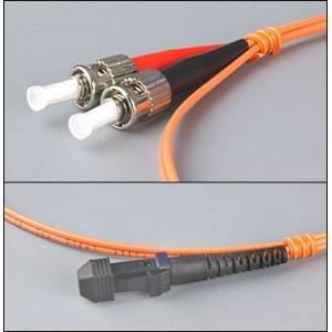 Patchcord światłowodowy MTRJ-ST 62,5/125 MM duplex 1m