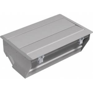CONFERENCE kaseta do wbudowania srebrnoszara RAL9006 krótka (338.0219)