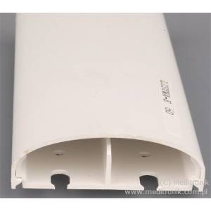 Listwa elektroinstalacyjna naścienna LE 60 biała