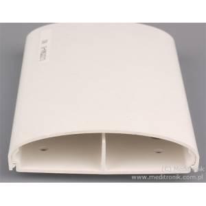 Listwa elektroinstalacyjna naścienna LE 80 biała