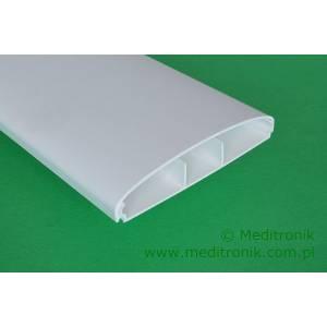 Listwa elektroinstalacyjna naścienna LE 100 biała