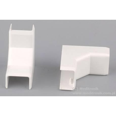 Narożnik wewnętrzny do listwy 15x10 biały