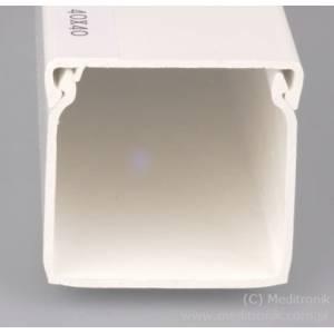 Listwa elektroinstalacyjna 40x40 długość 2m biała