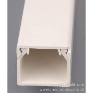 Listwa elektroinstalacyjna 17x17 długość 2m biała