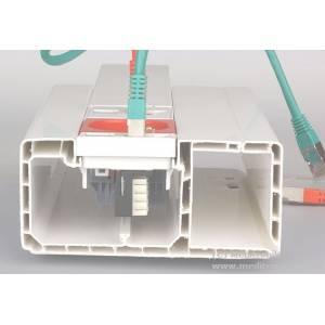 Kanał elektroinstalacyjny 120x55 długość 2m biały