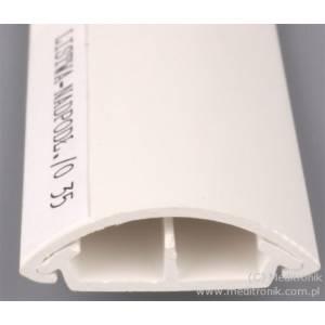 Listwa elektroinstalacyjna napodłogowa LO35 biała