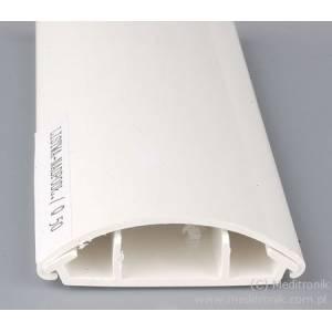 Listwa elektroinstalacyjna napodłogowa LO50 biała