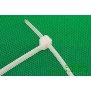 Opaska kablowa zaciskowa 200mm x 4,5mm biała trytytka