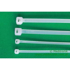 Opaska kablowa zaciskowa 280mm x 4,5mm biała trytytka