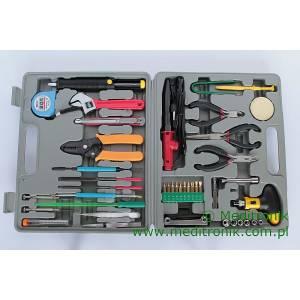 Zestaw narzędzi dla elektroinstalatora 48 elementów