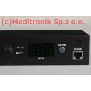 """Listwa zasilająca 19"""" IP 8 gniazd C13 kabel 2m wtyk C20"""