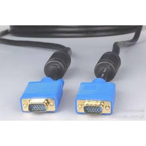 Kabel SVGA DSUB 15pin wtyk na wtyk długość 10 metrów