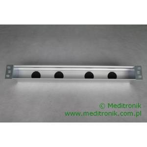 Patch panel do systemu MOSAIC 1U 19""