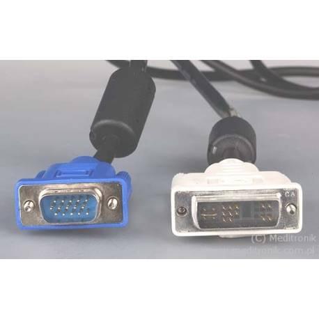 Kabel DVI-Analog wtyk na wtyk SVGA długość 1,8 metra
