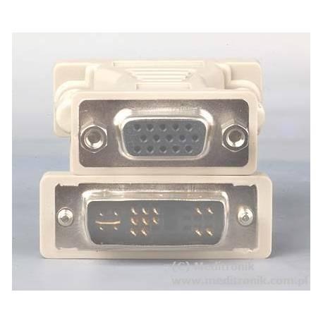 Adapter DVI gniazdo na wtyk SVGA
