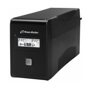 UPS PowerWalker Line-Interactive 650VA 2x230V PL(VI650LCDFR)