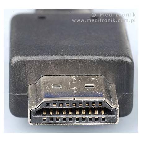 Kabel HDMI HDLink v1.4 pozłacane końcówki, długość 5m