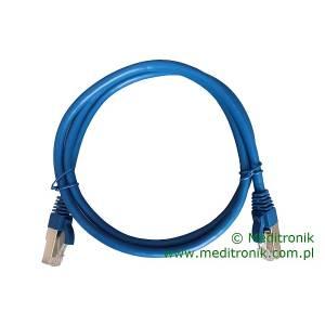 Patchcord FTP kat.6 dł.1m niebieski