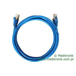 Patchcord FTP kat.6 dł.2m niebieski