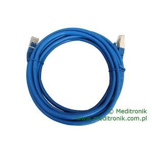 Patchcord FTP kat.6 dł.3m niebieski