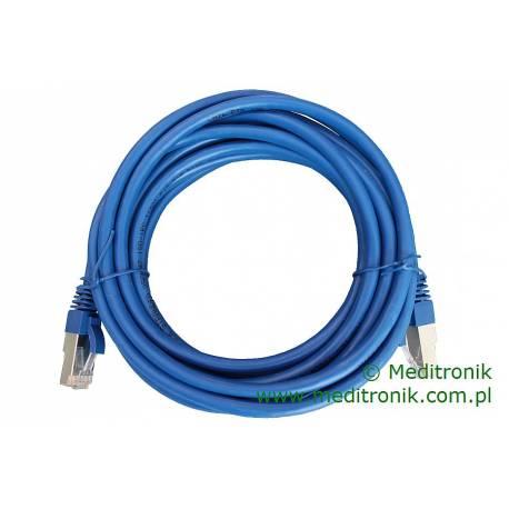 Patchcord FTP kat.6 dł.5m niebieski