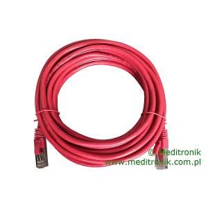 Patchcord FTP kat.6 dł.5m czerwony
