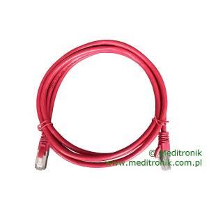 Patchcord FTP kat.6 dł.2m czerwony
