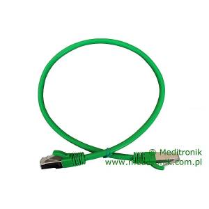 Patchcord FTP kat.6 dł.0,5m zielony