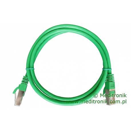 Patchcord FTP kat.6 dł.1m zielony
