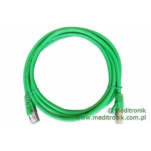 Patchcord FTP kat.6 dł.2m zielony