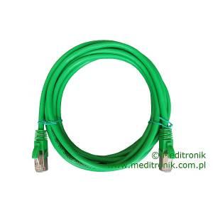 Patchcord FTP kat.6 dł.3m zielony